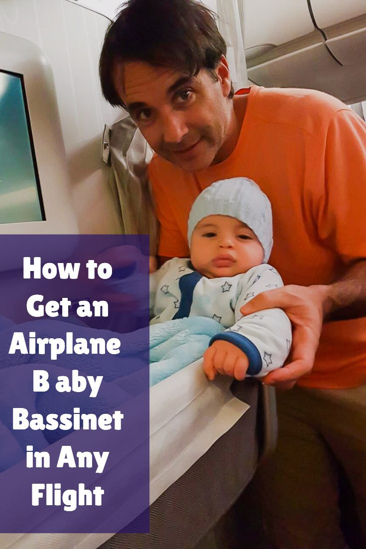 How to Get a Baby Airplane Bassinet on Any Flight ...