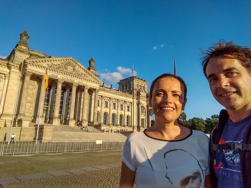 berlin with a baby