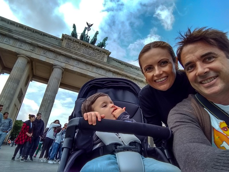 berlin with family
