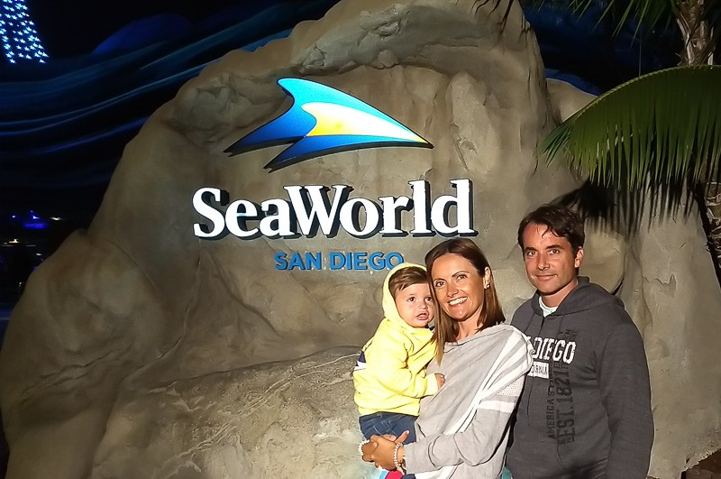 san diego sea world family