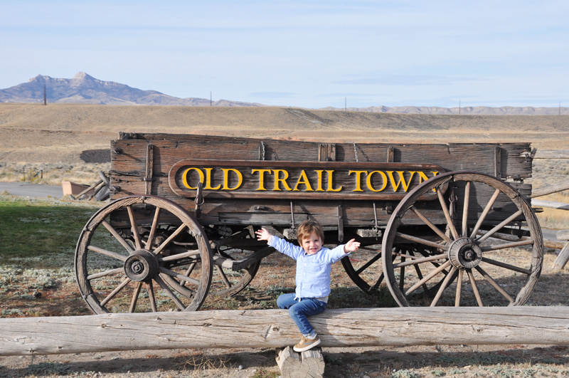 old trail town wy