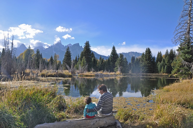 grand teton with kids