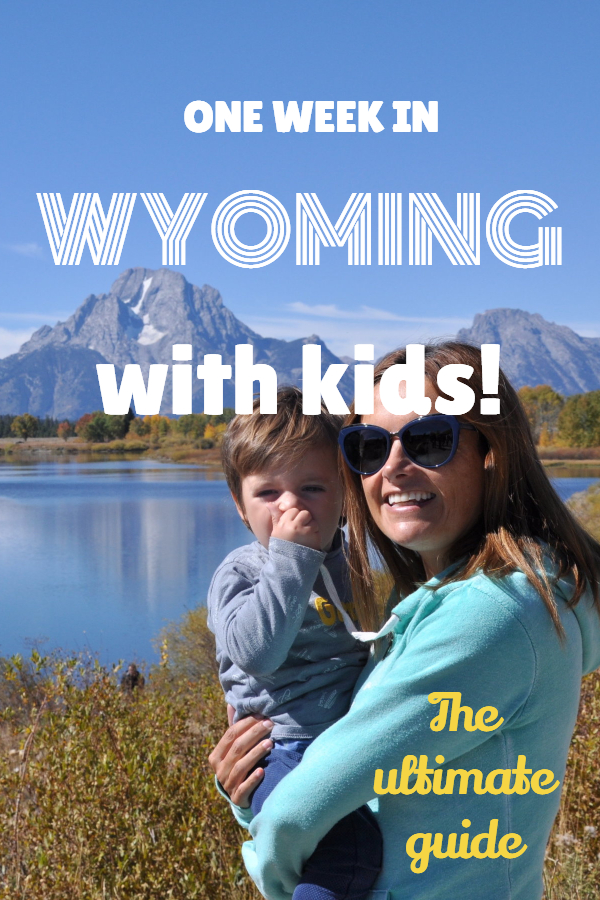 wyoming with kids