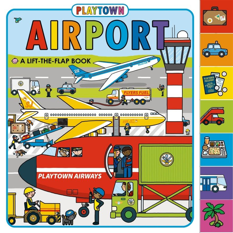 travel toy for toddler airport stickers