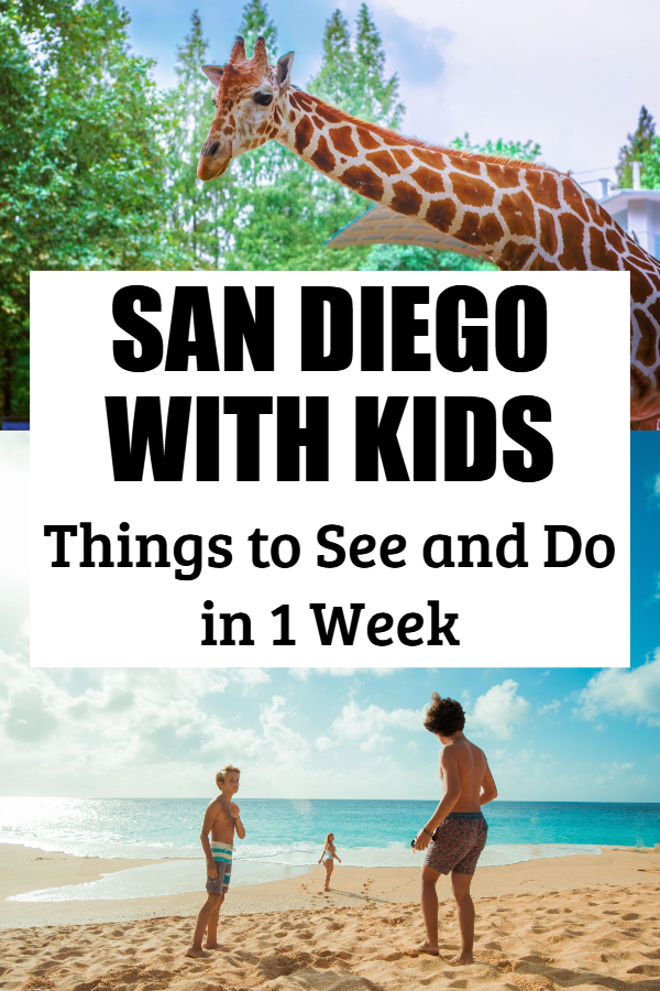 san diego with toddlers